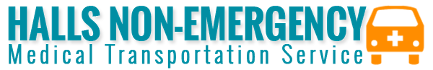 Halls Non-Emergency Medical Transportation Service Logo